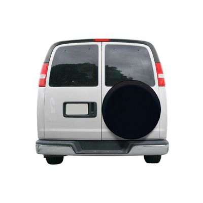 Universal Spare Tire Cover Black Large CAX-75387