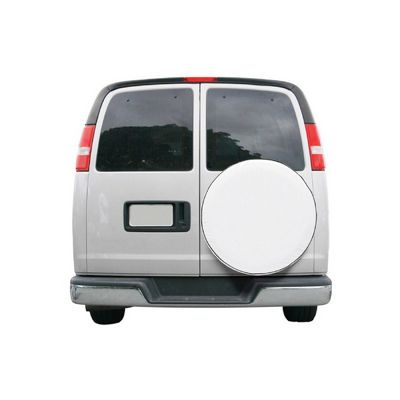 Universal Spare Tire Cover White Large CAX-80-218-042301-00