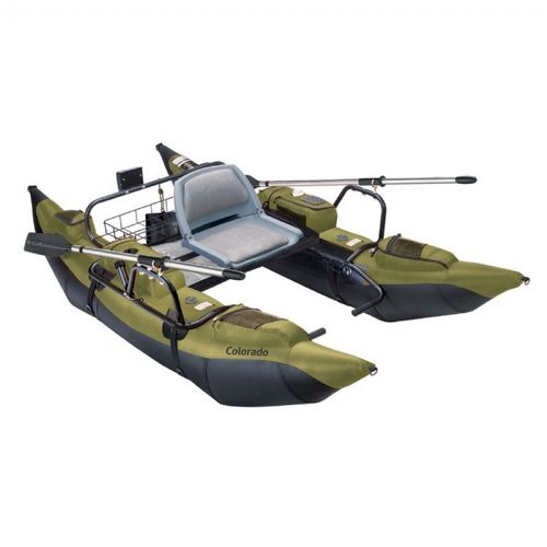 Colorado Inflatable Pontoon Fishing Boat CAX-69660