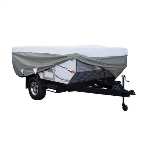 PolyPRO™3 RV Deluxe Folding Camper Cover Gray 12-14 ft. CAX-80-040-163106-00