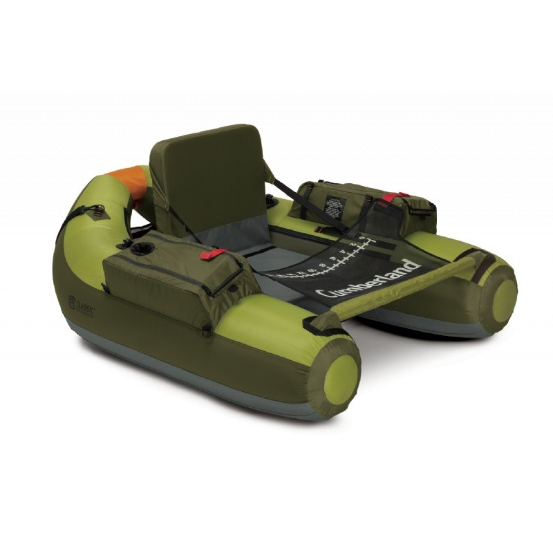 Cumberland Inflatable Compact Fishing Tube Boat : Inflatable Boats & Kayaks