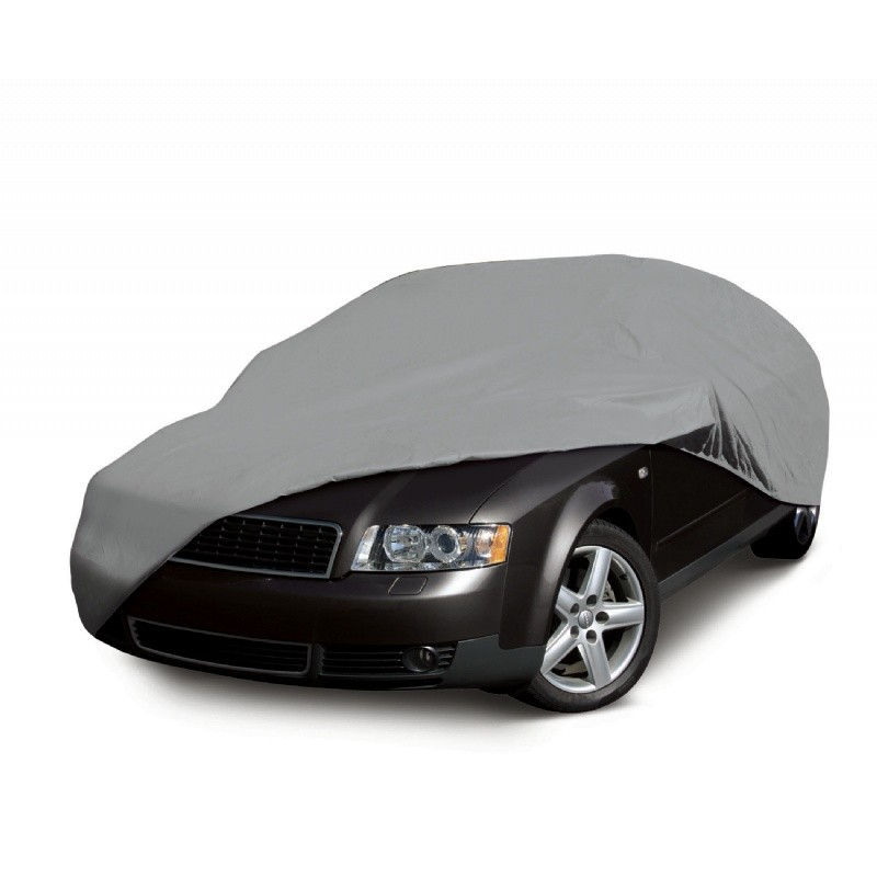Sedan Car Covers: Deluxe Four Layer Full-Size Sedan Car Cover 210 inch