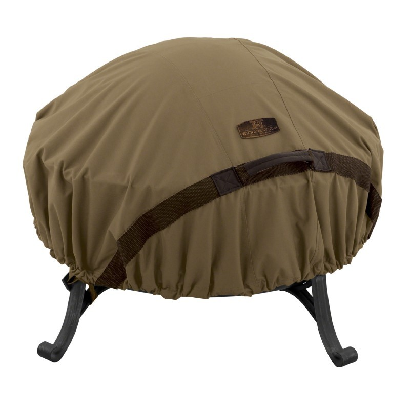 Hickory Fire Pit Cover Round Small