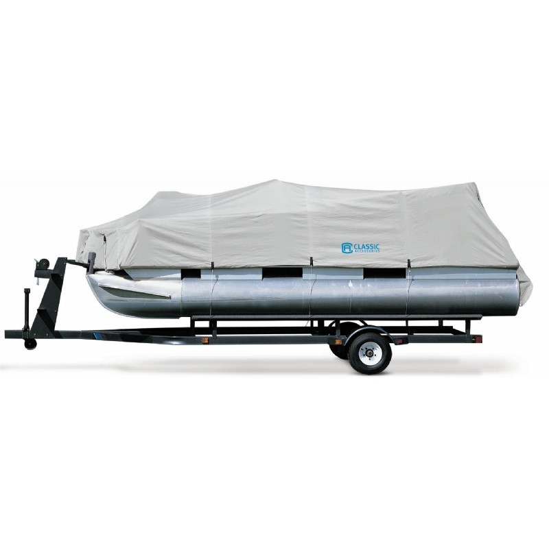 Patio Furniture Covers: Boat Covers: Hurricane™ Pontoon Boat Cover 17-20 feet
