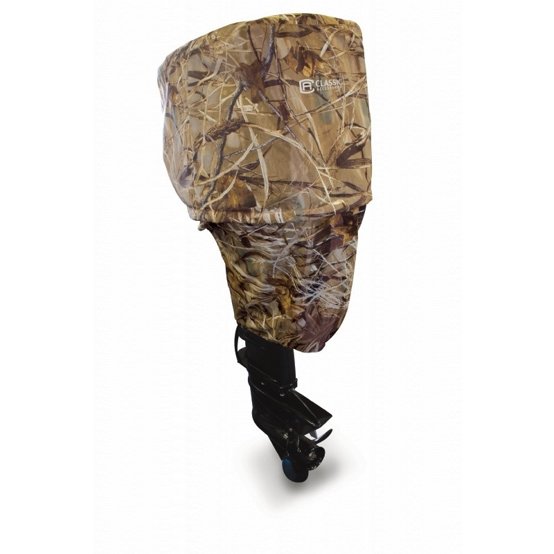 Large Camo Boat Motor Cover