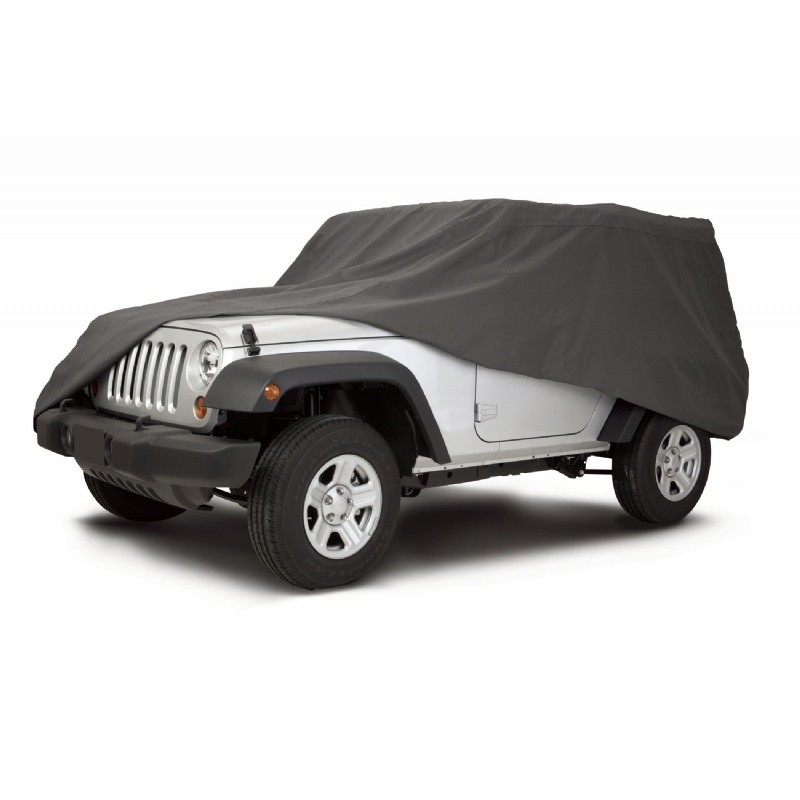 "OverDrive PolyPRO3 Jeep Wrangler Cover 161""L × 65""w"