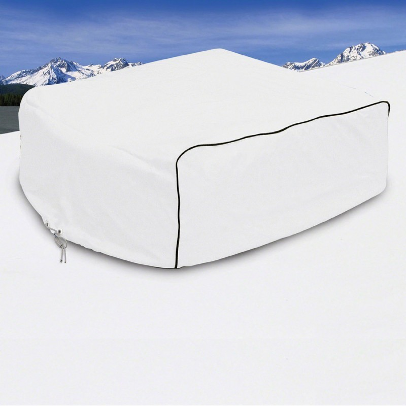 RV Air Conditioner Cover White Large