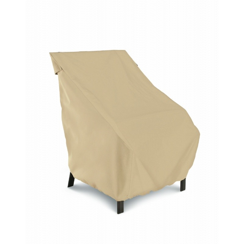 Terrazzo Patio High Back Chair Cover