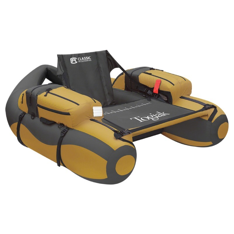 In Pool Platform: Togiak Inflatable Backpackable Fishing Tube Boat
