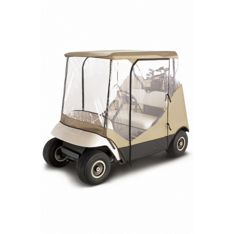 Travel 4-Sided Golf Car Enclosure : Golf Car Covers