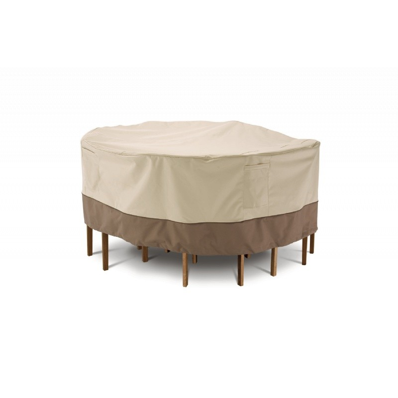 veranda patio medium round table and chair set cover 70 d
