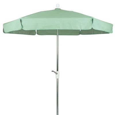 Fiberbuilt Garden Umbrella Hexagon 7.5 Feet Textiline Top FB7GCR