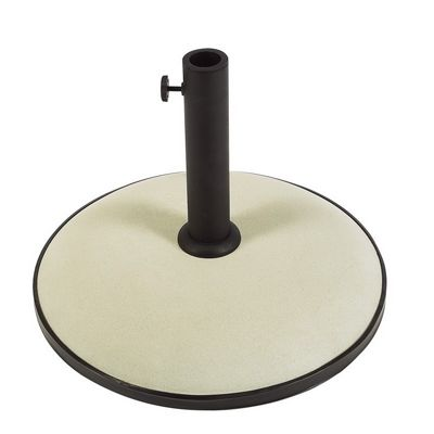 Patio Umbrella Base White FBCB19W