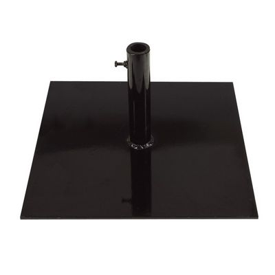 Steel Square Base Black 78 lbs. FBSBS78-BK