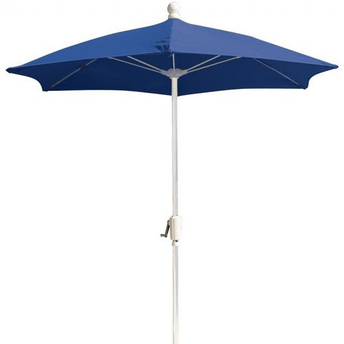 Fiberbuilt Patio Umbrella Hexagon 7.5 feet Acrylic Top FB7HCR