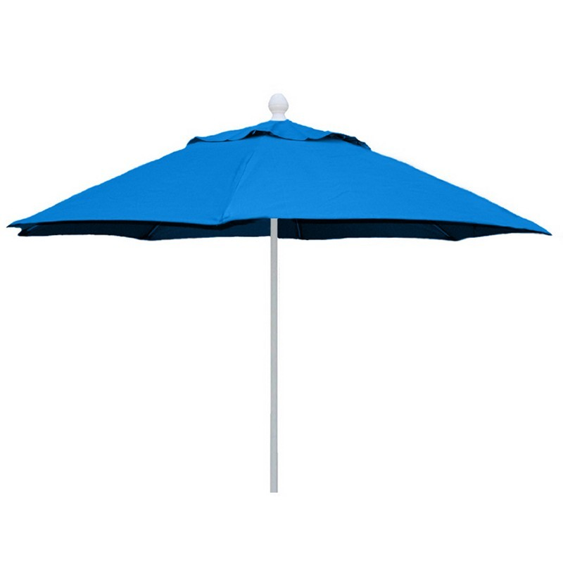 Patio Umbrellas, Beach Umbrellas: Market Umbrella Octagon 7.5 Feet Sunbrella Top