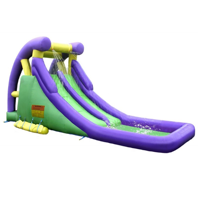 Kidwise Inflatable Double Water Slide