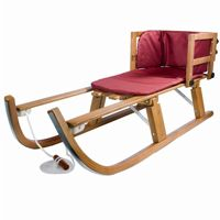 Heirloom Wooden Folding Pull Sled LB-136