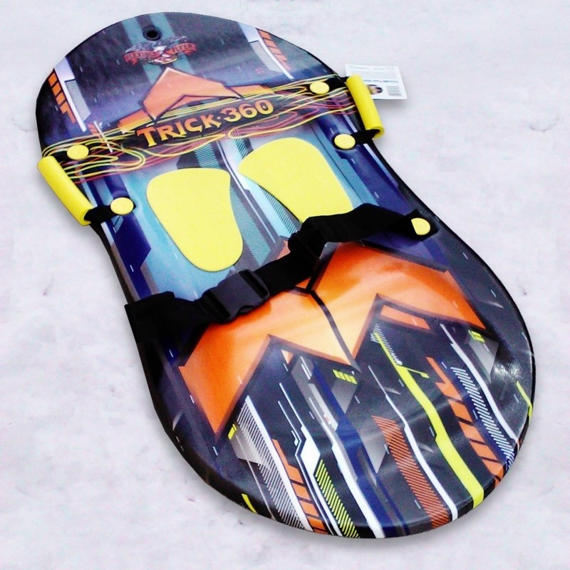 5 Foot Toboggans: Trick 360 Foam Snow Sled