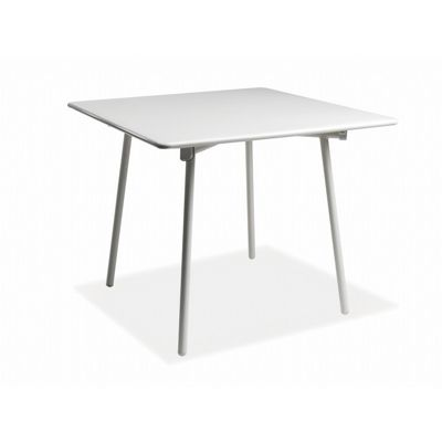 Onda Metal Square Outdoor Dining Table 34 Inch EMU ER181