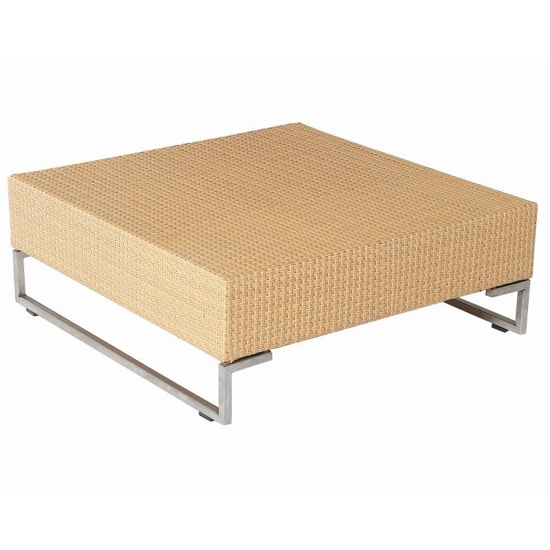 Luxor Wicker Square Coffee Table Emu6549v