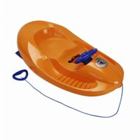 Snow Car Plastic Snow Sled Orange ES100-04