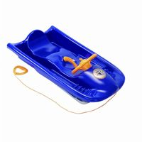 Snow Flyer Plastic Snow Sled Blue ES220-02