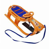 Snow Tiger Deluxe Plastic Snow Sled Orange ES840-04