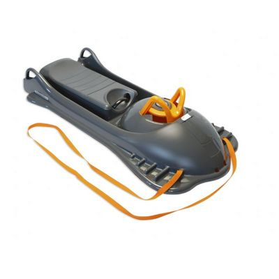 Snow Racer Plastic Snow Sled Black ES720-06
