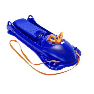 Snow Racer Plastic Snow Sled Blue ES720-02