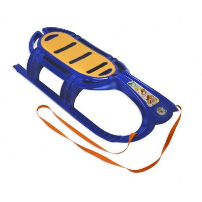 Snow Tiger Plastic Snow Sled Blue ES800-02