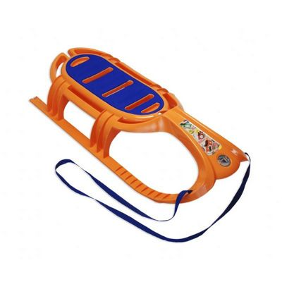 Snow Tiger Plastic Snow Sled Orange ES800-04