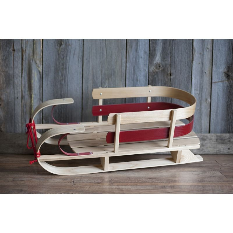 St. Nick Dasher Sleigh Red
