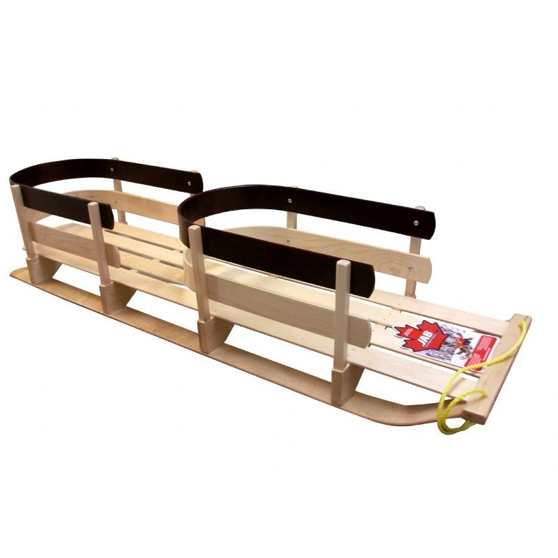 St. Nick Donner Sleigh Two Seater Black