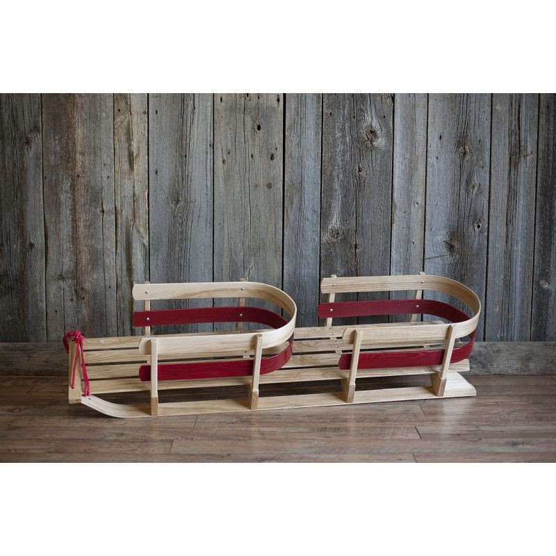St. Nick Donner Sleigh Two Seater Red