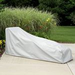 "78"" Chaise Lounge Cover - Gray PC1160"