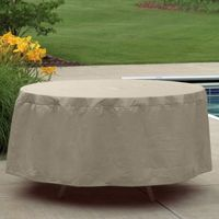 "72"" - 76"" Oval or Rectangular Outdoor Patio Table Cover PC1150"