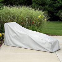 "77"" Chaise Lounge Cover - Gray PC1121"