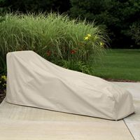 Winter outdoor chaise covers, patio lounge