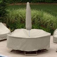 Winter outdoor patio furniture set covers