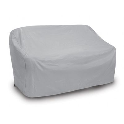 Patio Love Seat Cover - Oversized - Gray PC1122