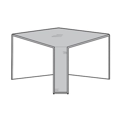 Patio Sectional Corner Cover - Gray PC1252