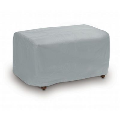 Rectangle Ottoman Cover - Gray PC1116