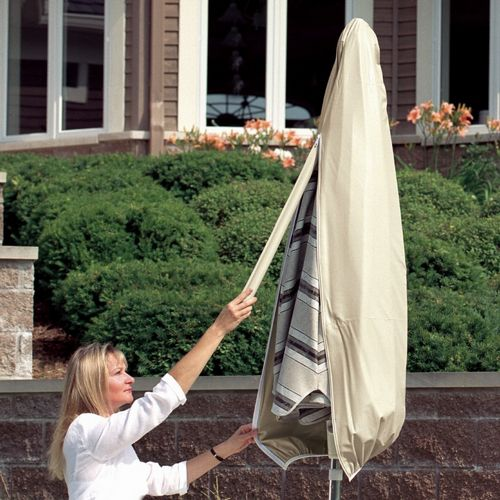 6' to 8' Small Patio Umbrella Cover with Wand PC1170-TN