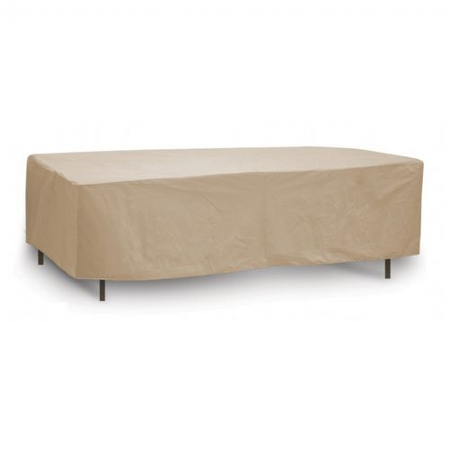 "60"" - 66"" Oval or Rectangular Outdoor Patio Table Cover PC1152-TN"