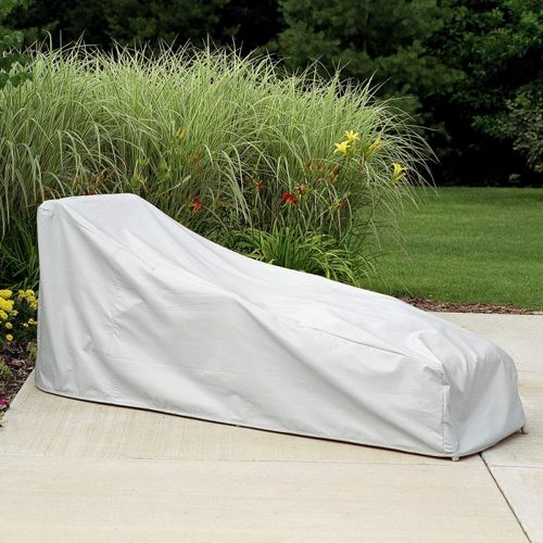 "77"" Chaise Lounge Cover - Gray PC1121-GR"