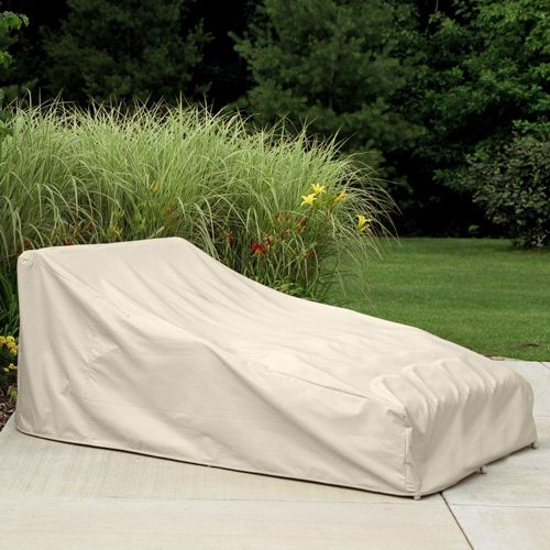 "78"" Double Chaise Lounge Cover PC1161-TN"