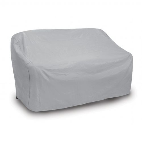 Patio Love Seat Cover - Oversized - Gray PC1122-GR