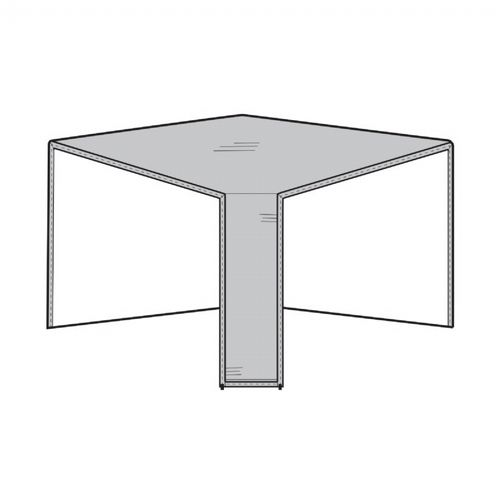 Patio Sectional Corner Cover - Gray PC1252-GR