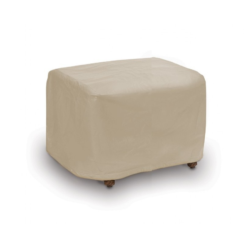 Outdoor Furniture Cover on Square Outdoor Patio Ottoman Cover Pc1118